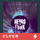 Neurofunk - Abstract Party Flyer / Poster Template A3 - GraphicRiver Item for Sale