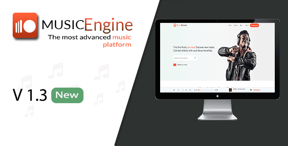 MusicEngine - Social Music Sharing Platform - CodeCanyon Item for Sale