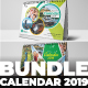 Bundle Calendar - GraphicRiver Item for Sale