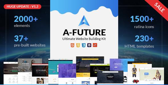 A Future - Creative Agency, Corporate and Portfolio Multi-purpose HTML Template