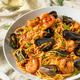 Homemade Italian Seafood Pasta - PhotoDune Item for Sale