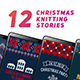 Christmas Knitting Stories - VideoHive Item for Sale