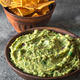 Guacamole in bowl with tortilla chips - PhotoDune Item for Sale