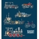 Transport Vehicles Vector Mechanics and Mechanisms - GraphicRiver Item for Sale