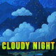 Cloudy Night - Painting - Photoshop - GraphicRiver Item for Sale