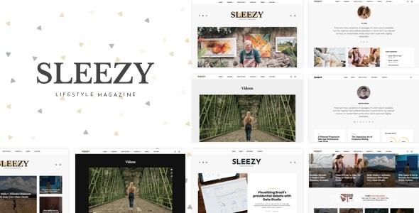 Sleezy Lifestyle - Marketing WordPress Theme