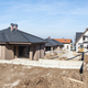New build houses. Panoramic image - PhotoDune Item for Sale