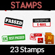 23 Customizable Rubber Stamps Vol.3 - GraphicRiver Item for Sale