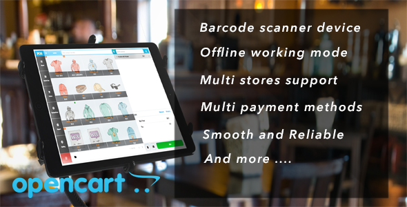OpenCart Point of Sale (POS)