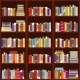 Bookshelf Seamless Pattern Vintage Flat Design - GraphicRiver Item for Sale