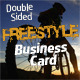 Freestyle Business Card - GraphicRiver Item for Sale