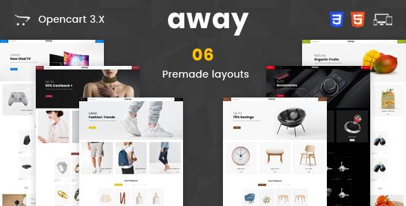 Away Multipurpose Responsive Opencart 3.0 Theme - Miscellaneous OpenCart