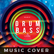 Drum & Bass - Music Album Cover Artwork - GraphicRiver Item for Sale