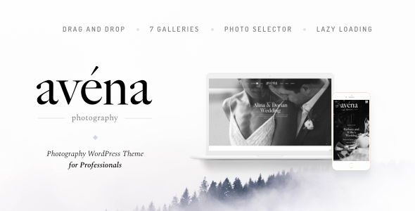 Avena - Photography WordPress for Professionals