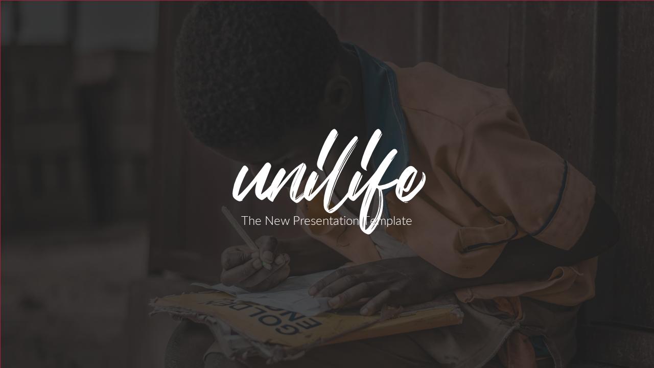 Unilife - Google Slide Presentation Template