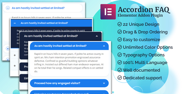 Accordion Elementor Addon - CodeCanyon Item for Sale