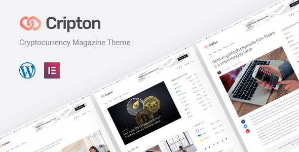 Cripton | Cryptocurrency Magazine WordPress Theme - News / Editorial Blog / Magazine