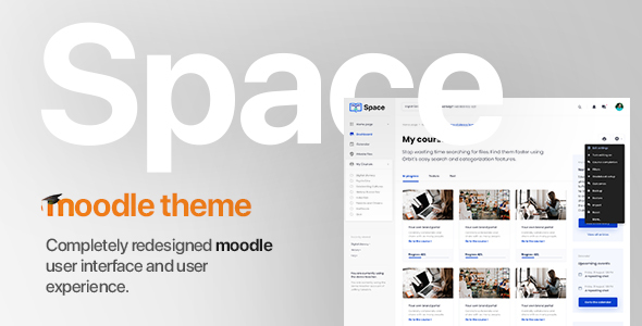 Space v1.0.5 | Premium Moodle Theme based on Bootstrap 4 - Moodle CMS Themes