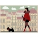 Free Download Girl with a Small Dog on a Walk in the Background Nulled