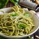 Spaghetti pasta with pesto sauce - PhotoDune Item for Sale