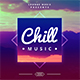 Chill Music Album Cover Artwork Web Template - GraphicRiver Item for Sale