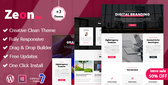 Zeon - Creative Multi-Purpose WordPress theme
