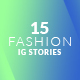 Free Download 15 Fashion Instagram Stories Nulled