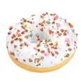 White donut isolated - PhotoDune Item for Sale