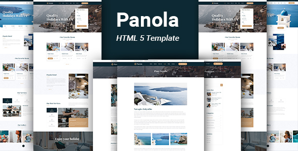 Panola : Resort and Hotel HTML Template