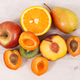 Free Download Nutritious fruits as healthy dessert containing natural vitamins Nulled