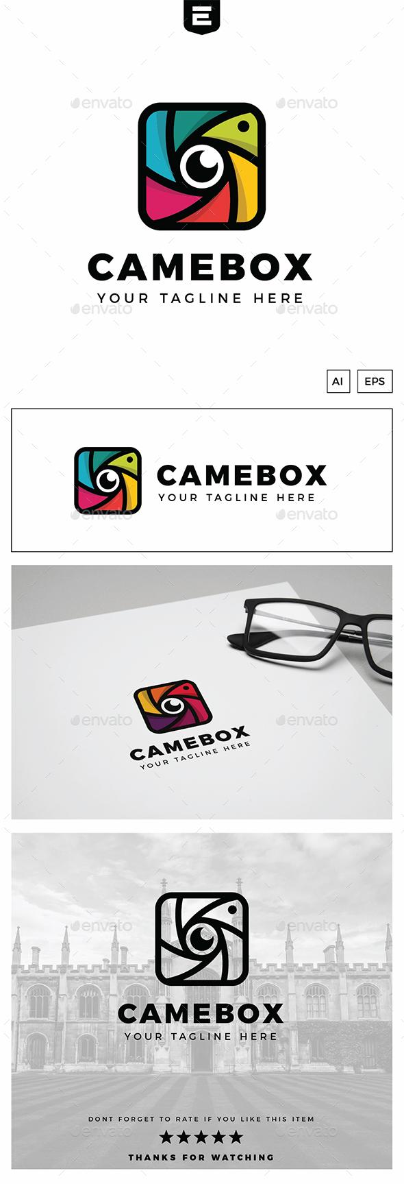 Camera Box Logo - Objects Logo Templates
