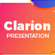 Clarion Power Point Presentation Template - GraphicRiver Item for Sale