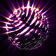 Sphere Noisy Rays Rotating - VideoHive Item for Sale