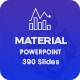 Material - Clean Business Powerpoint Template 2019 - GraphicRiver Item for Sale