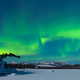 Free Download Northern Lights Aurora borealis green explosion Nulled