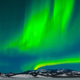 Intense green Aurora borealis night sky dance - PhotoDune Item for Sale