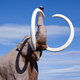 Free Download Extinct Woolly Mammoth sculpture Nulled