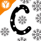 Christmas Snow Font - GraphicRiver Item for Sale