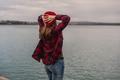Girl on the lake - PhotoDune Item for Sale