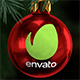 Logo on Christmas ball - VideoHive Item for Sale