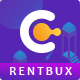 Free Download Rentbux - ICO Landing Page and Cryptocurrency PSD Template Nulled
