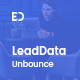 Free Download LeadData - Lead Generation Landing Page PSD Template Nulled