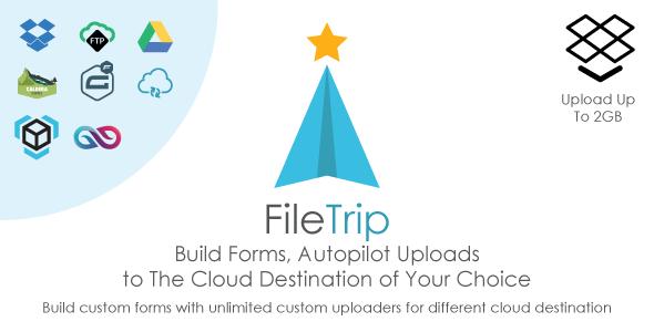 Filetrip | Easily upload to Dropbox + Google Drive + FTP + Wordpress - CodeCanyon Item for Sale