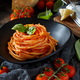 Spaghetti pasta with tomato sauce - PhotoDune Item for Sale