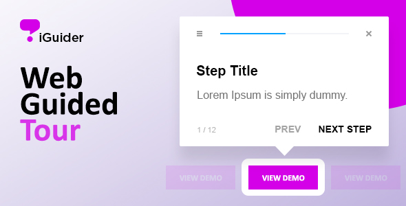 iGuider - Webpage UI Help Tour - CodeCanyon Item for Sale