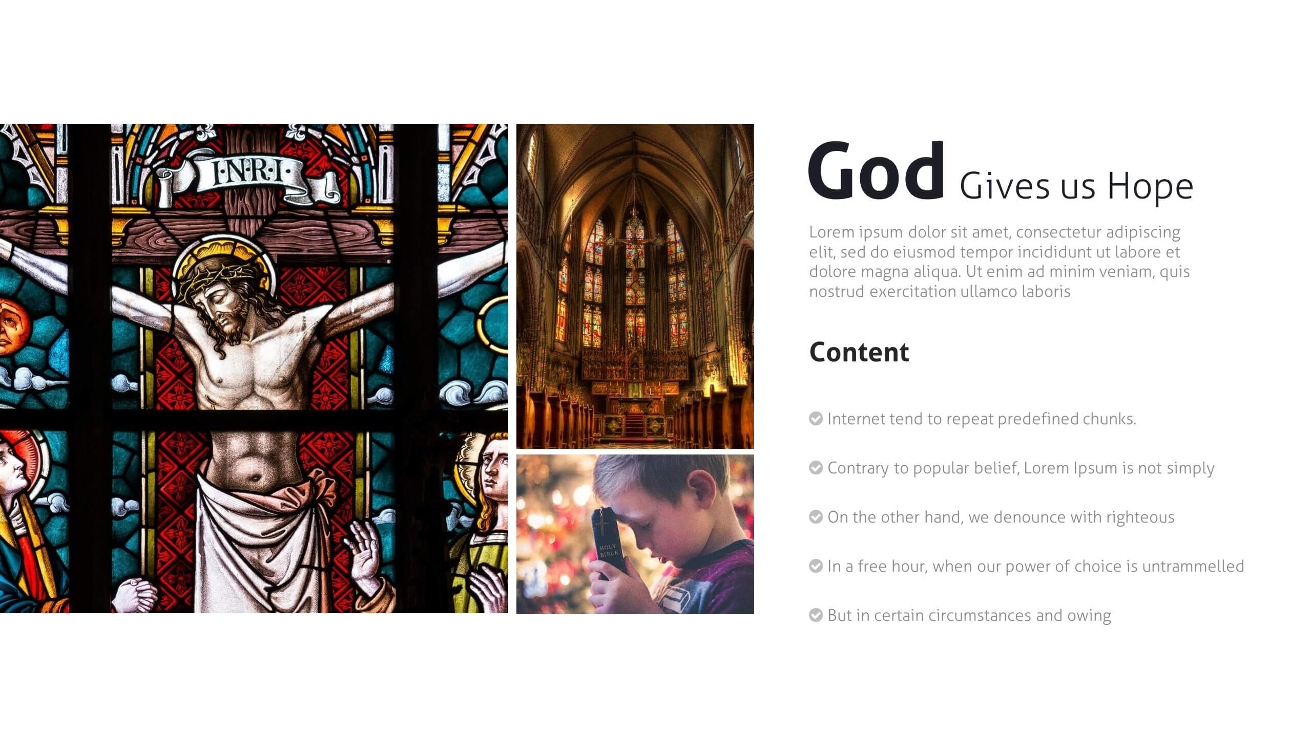 Sacredia - Google Slides Church Template