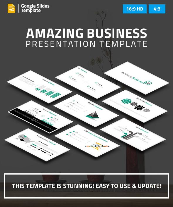 Business Google Slides Presentation - Google Slides Presentation Templates