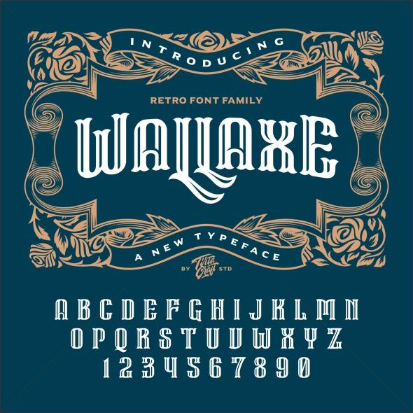 Wall Axe Font - Serif Fonts