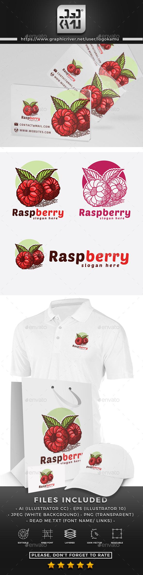 Raspberry Logo - Nature Logo Templates