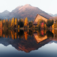 Picturesque autumn view of lake Strbske pleso in High Tatras National Park - PhotoDune Item for Sale